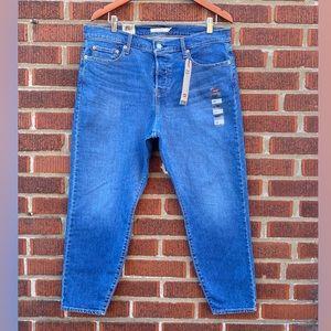 🆕 Levi's Wedgie Skinny Plus Size Stretch Jeans